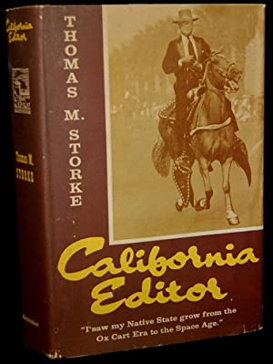 CALIFORNIA EDITOR (Signed): Thomas M. Storke