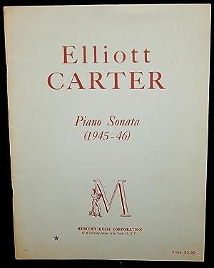 PIANO SONATA (1945-46): Elliott Carter