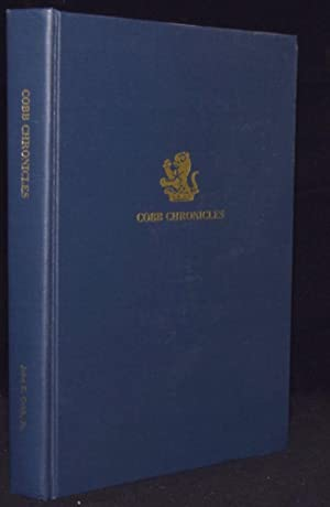 COBB CHRONICLES: AN OVERVIEW OF THE CLAN (Signed): John E. Cobb