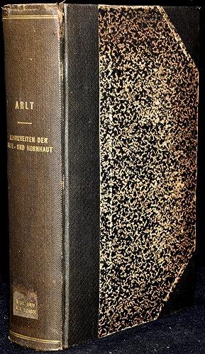 DIE KRANKHEITEN DES AUGES FUR PRAKTISCHE ARZTE GESCHILDERT. 3 BANDE IN 1 BAND (3 VOLUMES BOUND AS 1...