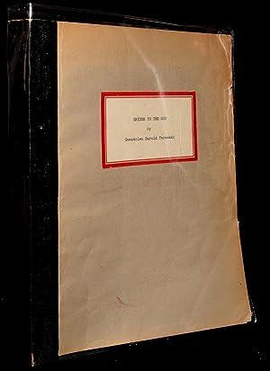BRIDGE TO THE SEA (Confidential Advance Copy): Gwendolyn Terasaki