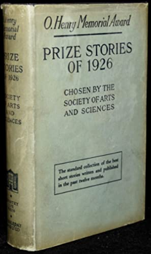 O. HENRY MEMORIAL AWARD PRIZE STORIES OF 1926: The Society of Arts and Sciences | Blanche Colton ...