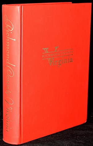 RICHMOND COUNTY VIRGINIA. A REVIEW COMMEMORATING THE BICENTENNIAL: Elizabeth Lowell Ryland