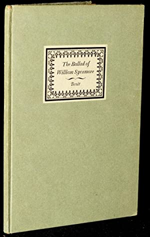 THE BALLAD OF WILLIAM SYCAMORE: Stephen Vincent Benet