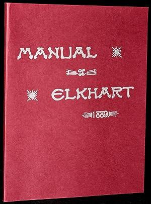 MANUAL OF ELKHART. 1889