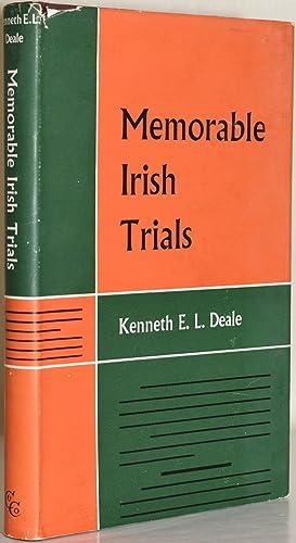 MEMORABLE IRISH TRIALS (Signed): Kenneth E. L.