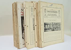 THE MAGICAL BULLETIN. 72 ISSUES, 1916-1923