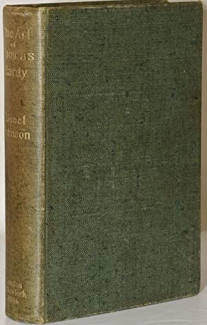 THE ART OF THOMAS HARDY. WITH A: Lionel Johnson