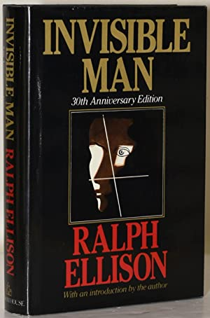 INVISIBLE MAN. 30th ANNIVERSARY EDITION. (Signed): Ralph Ellison