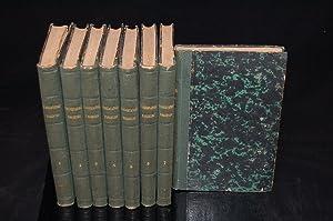 L'OSSERVATORE FIORENTINO SUGLI EDIFIZJ DELLA SUA PATRIA [8 Volumes; Complete Set]: Lastri, ...