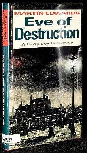 EVE OF DESTRUCTION (Signed; First Edition): Edwards, Martin