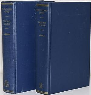 THE PETTIGREW PAPERS (2 Vol set); VOL I: 1685-1818; VOL II: 1819-1843: Lemmon, Sarah McCulloh (ed.)
