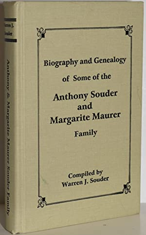 BIOGRAPHY AND GENEALOGY OF SOME OF THE ANTHONY SOUDER AND MARGARITE MAURER FAMILY: Souder, Warren J...