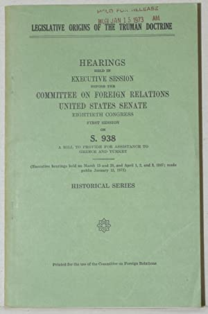 HEARINGS HELD IN EXECUTIVE SESSION BEFORE THE: Committee on Foreign