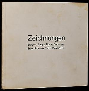 ZEICHNUNGEN: Baselitz, Beuys, Buthe, Darboven, Erber, Palermo, Polke, Richter, Rot: Wedewer, Rolf; ...