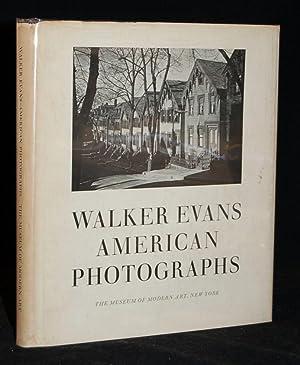 WALKER EVANS: AMERICAN PHOTOGRAPHS: Emmet Gowin] Walker Evans; essay by Lincoln Kirstein
