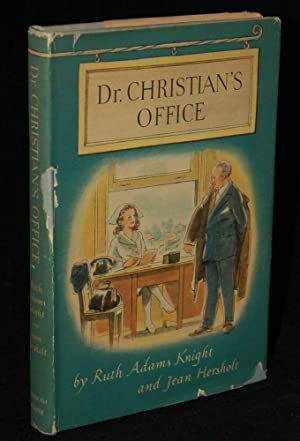 DR. CHRISTIAN';S OFFICE: Ruth Adams Knight and Jean Hersholt