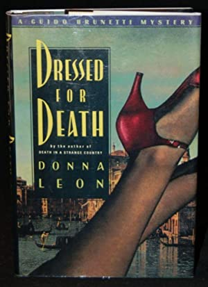 DRESSED FOR DEATH: Donna Leon (author)