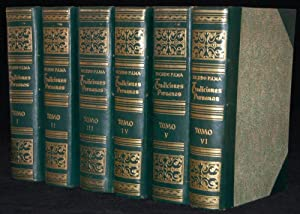 TRADICIONES PERUANAS (6 VOLUME SET): Ricardo Palma (author)