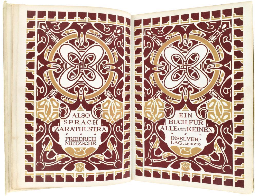 Also Sprach Zarathustra. Ein Buch für Alle: Nietzsche (Friedrich)
