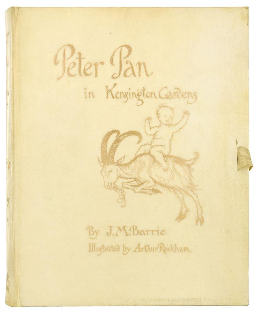 Peter Pan in Kensington Gardens. With Drawings: Rackham.) BARRIE (J.