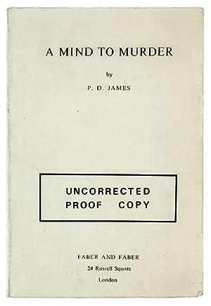 A Mind to Murder.: James (P.D.)