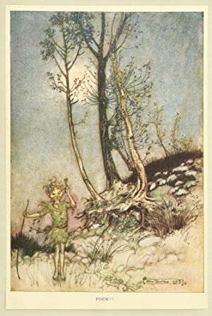 Tales from Shakespeare. Illustrated by Arthur Rackham.