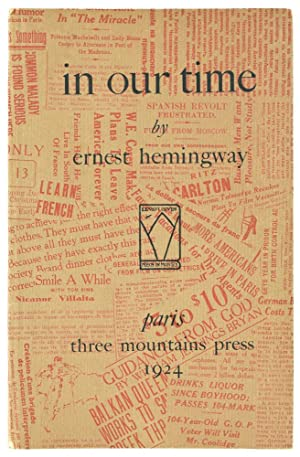 In Our Time.: Hemingway (Ernest)