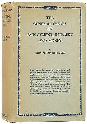 The General Theory of Employment, Interest and: Keynes (John Maynard)