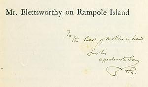 Mr. Blettsworthy on Rampole Island.: Wells (H.G.)