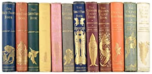 A Complete Collection of the 12 Fairy Books, as below:: Lang (Andrew, Editor.)