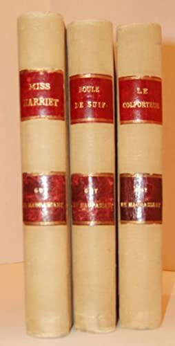 Three Books: Le Colporteur, Miss Harriet, and Boul de Suif: de Maupassant, Guy