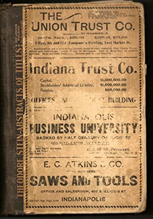 R.L. Polk & Co.'s Indianapolis City Directory for 1899. Embracing a Complete Alphabetical ...