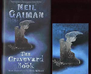 The Graveyard Book; SIGNED 1st/1st: Gaiman, Neil