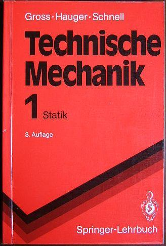 Statik 1 von dietmar gross zvab for Statik mechanik