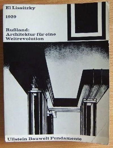 Lissitzky zvab for Architektur 1929