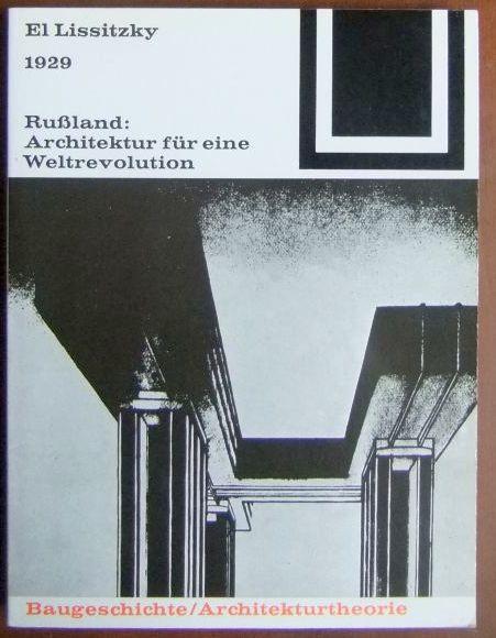Lissitzky russland zvab for Architektur 1929