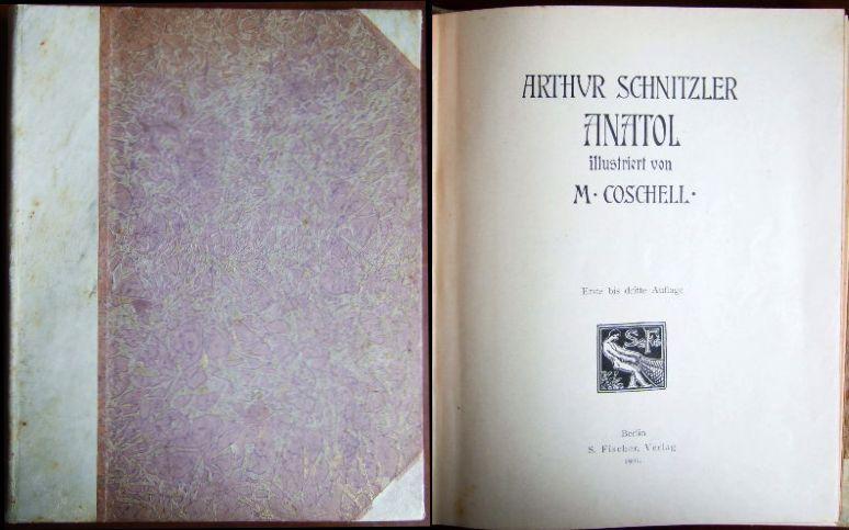 Anatol. Ill. v. M. Coschell: Schnitzler, Arthur: