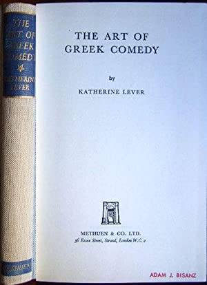 The art of greek comedy.