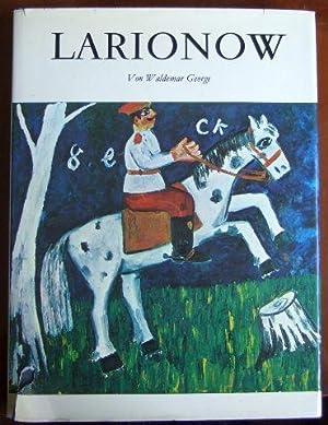 Larionow. Monographie: GEORGE, Waldemar.: