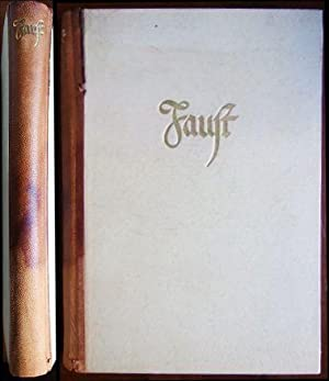 Faust - Eine Tragödie von Goethe. Zueignung,: Goethe, Johann Wolfgang