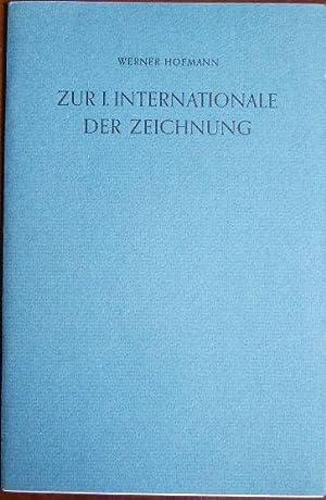 Rede zur Eröffnung der I. Internationale der: Hofmann, Werner: