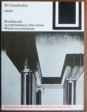 El lissitzky abebooks for Architektur 1929