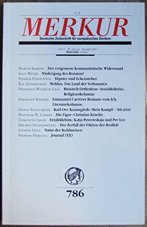 MERKUR Deutsche Zeitschrift für europäisches Denken: Heft 08 / August 2012 (German Edition)