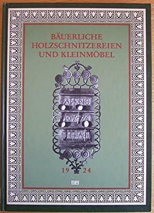 Bäuerliche Holzschnitzereien und Kleinmöbel aus Norddeutschland. Mit