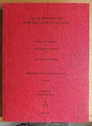 Studien zum  uvre des Gonzales Coques (1614/18: Lisken-Pruss, Marion:
