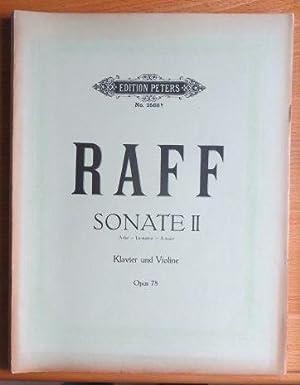 Sonate II A dur für Klavier und: Raff, Joachim: