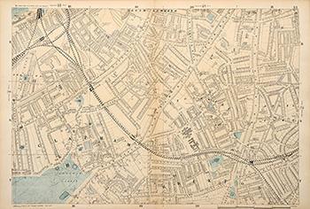 (LONDON AND SUBURBS.) Sheet 31: BACON, George Washington.