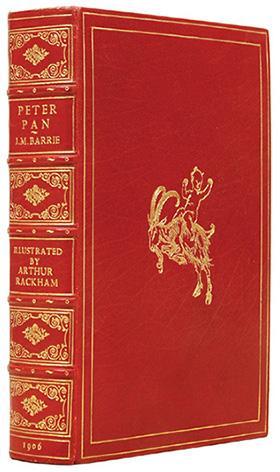 """Peter Pan in Kensington Gardens (From """"The: RACKHAM, Arthur.) BARRIE,"""