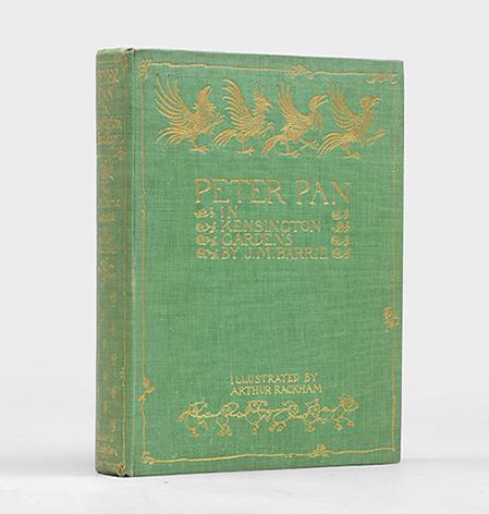 """Peter Pan in Kensington Gardens. From """"The: RACKHAM, Arthur.) BARRIE,"""